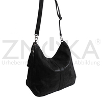 Jennifer Jones - Damen Handtasche Damentasche Shopper - Schwarz Antik
