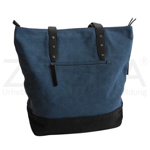 Bag Street - Canvas Damen Handtasche Damentasche Schultertasche ... 1611955b75