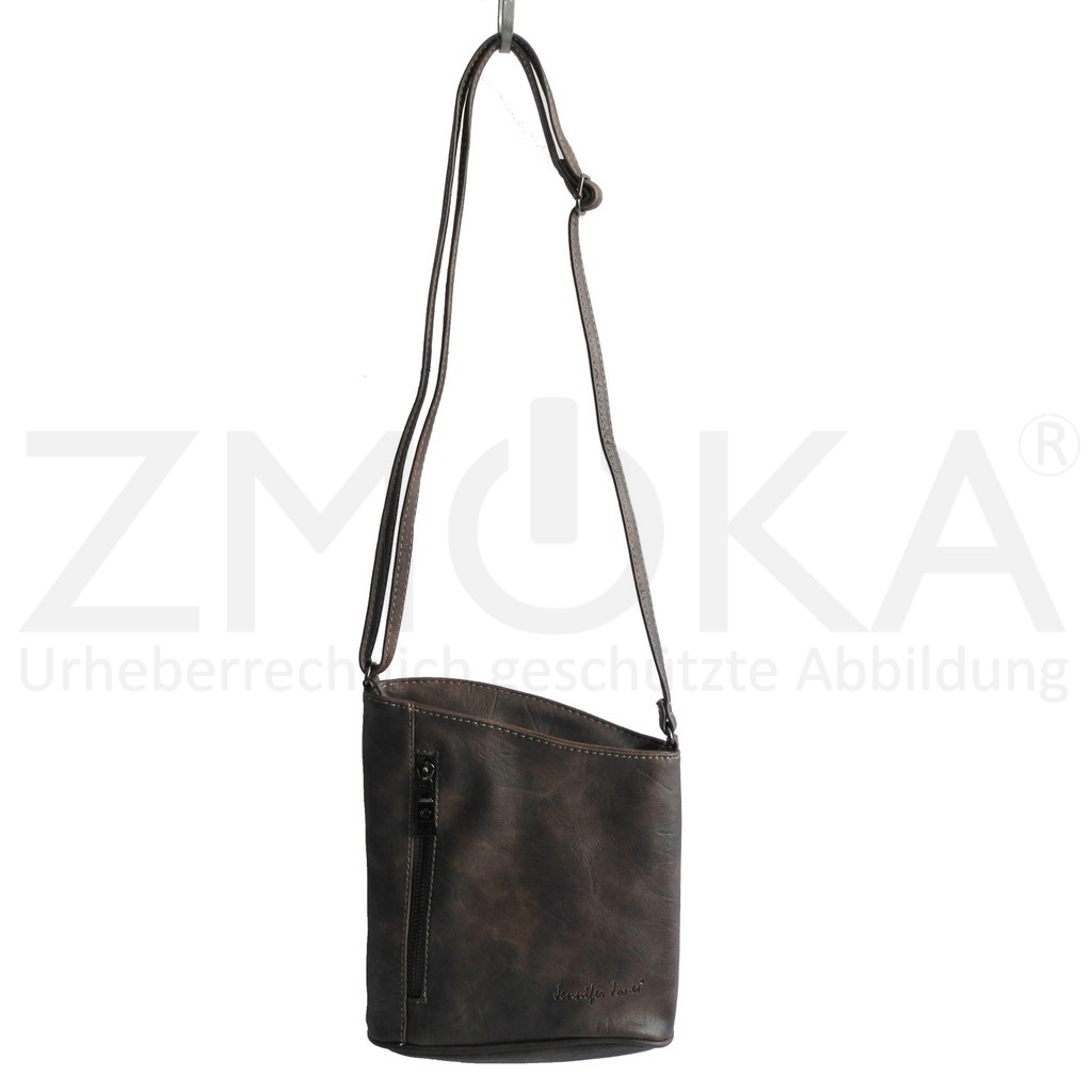 jennifer jones edle damen umh ngetasche schultertasche handtasche taupe von zmoka 18 99. Black Bedroom Furniture Sets. Home Design Ideas